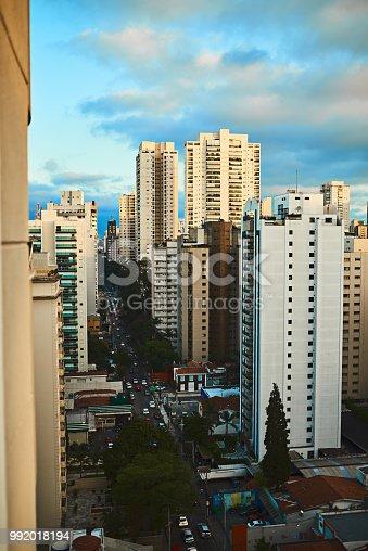 Shot of a cityscape