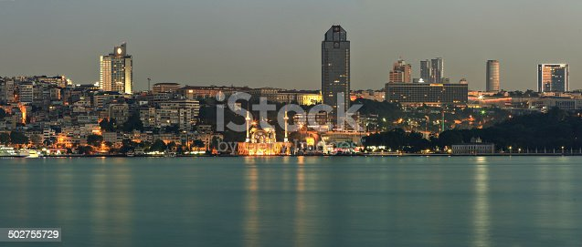 istock skyscrapers, mosques and istanbul 502755729