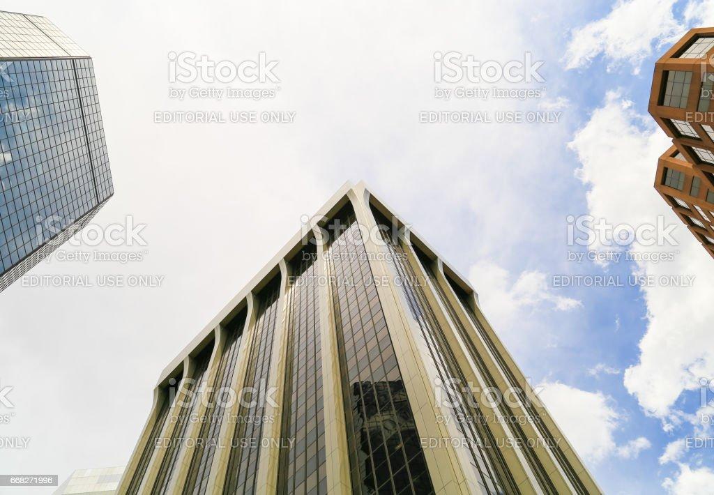 Skyscrapers of Denver foto stock royalty-free