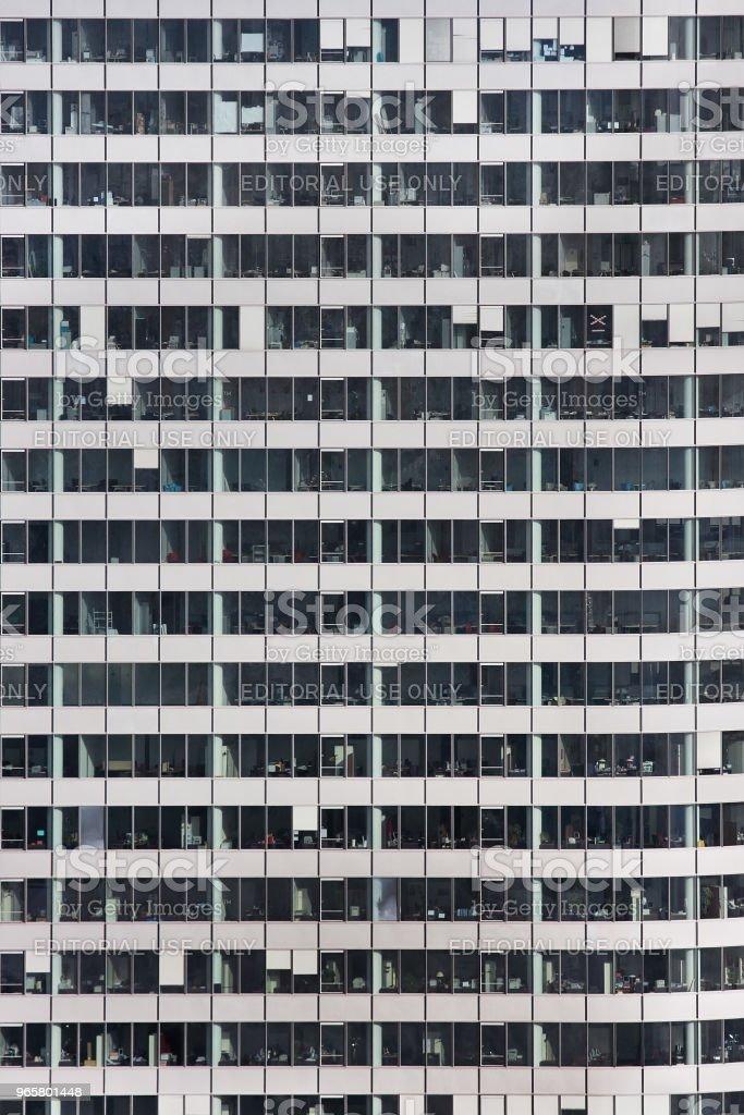 Wolkenkrabbers van La Defense - Royalty-free Architectuur Stockfoto