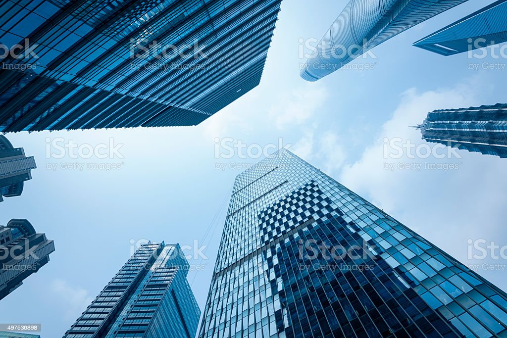 Skyscrapers of Shanghai. royalty-free stock photo