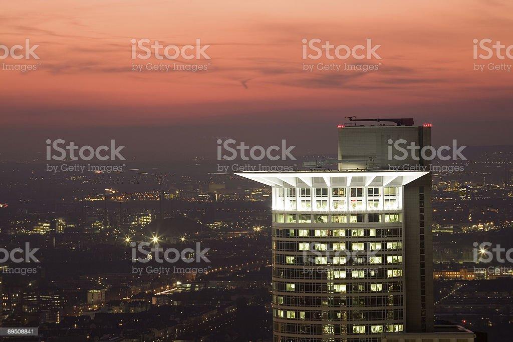 skyscrapers peak royalty-free stock photo