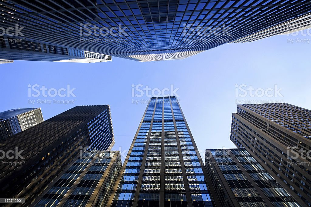 Skyscrapers royalty-free stock photo
