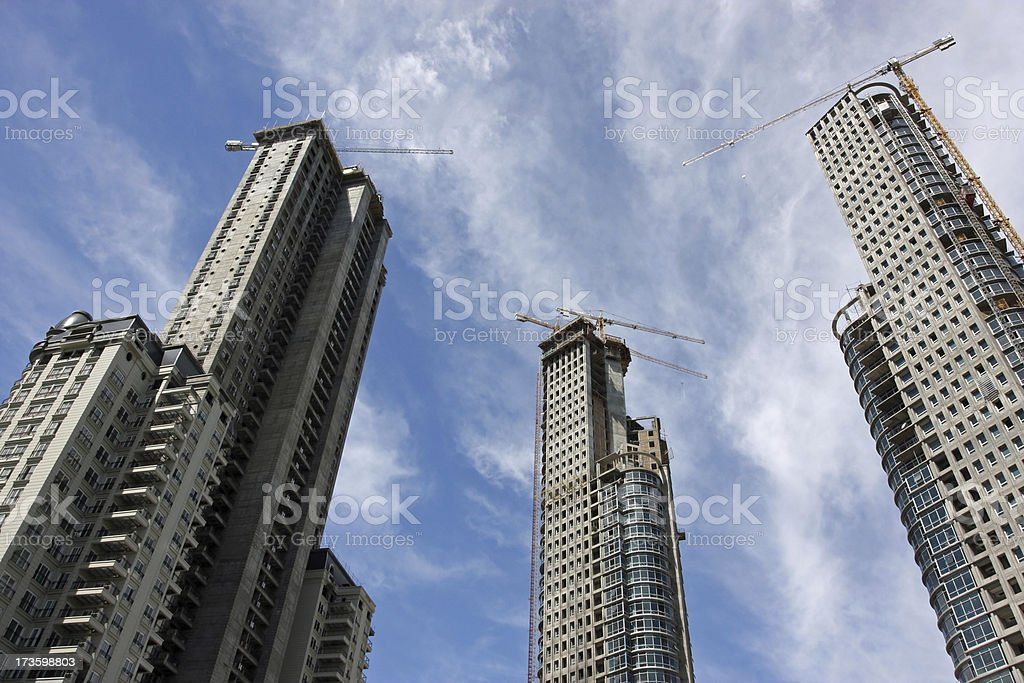 Skyscrapers stock photo