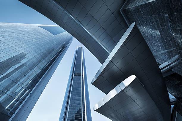 skyscrapers - abu dhabi stok fotoğraflar ve resimler
