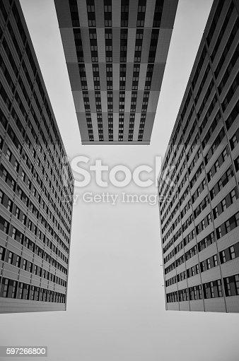 Wolkenkratzer Stock-Fotografie und mehr Bilder von Architektur