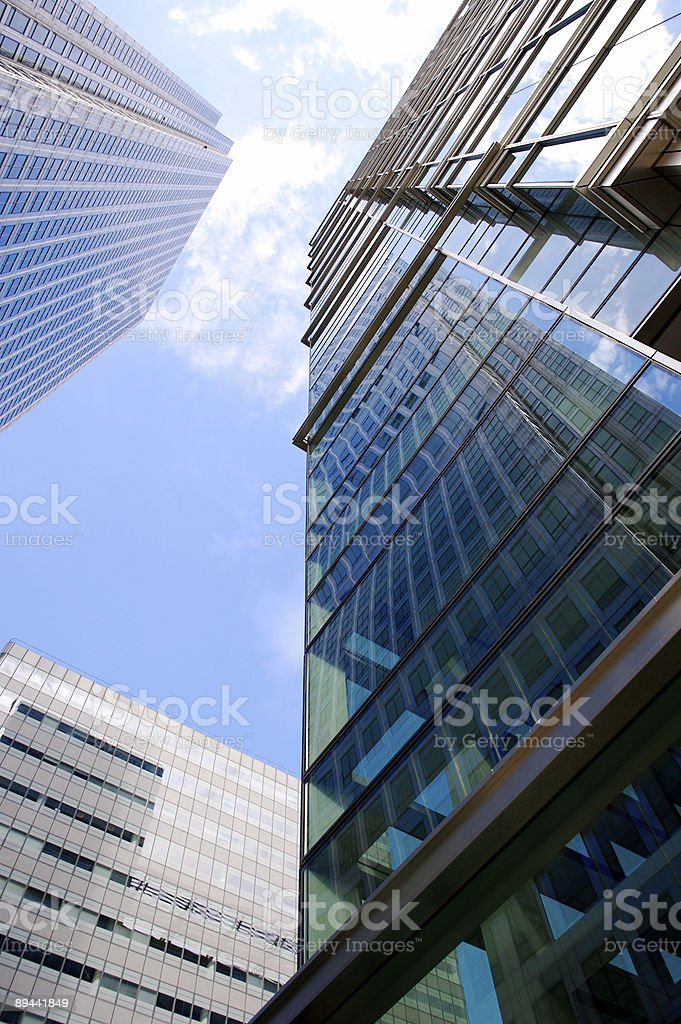 Skyscrapers... royalty-free stock photo