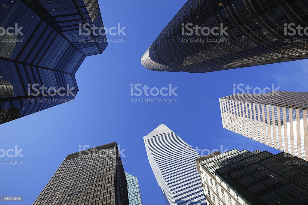 Grattacieli di New York foto stock royalty-free