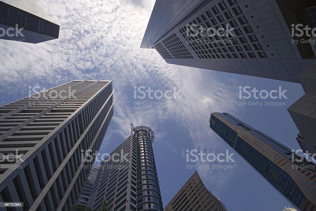 Skyscrapers 免版稅 stock photo