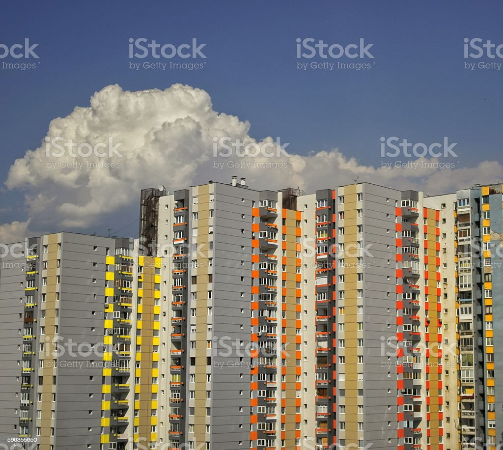 Skyscrappers royalty-free stock photo