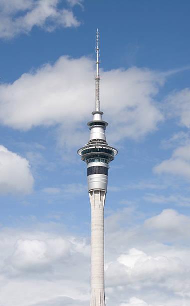 Skytower, Auckland, NZ stock photo
