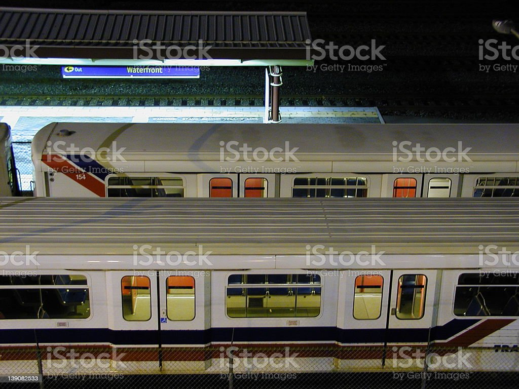 SkyTrain royalty-free stock photo