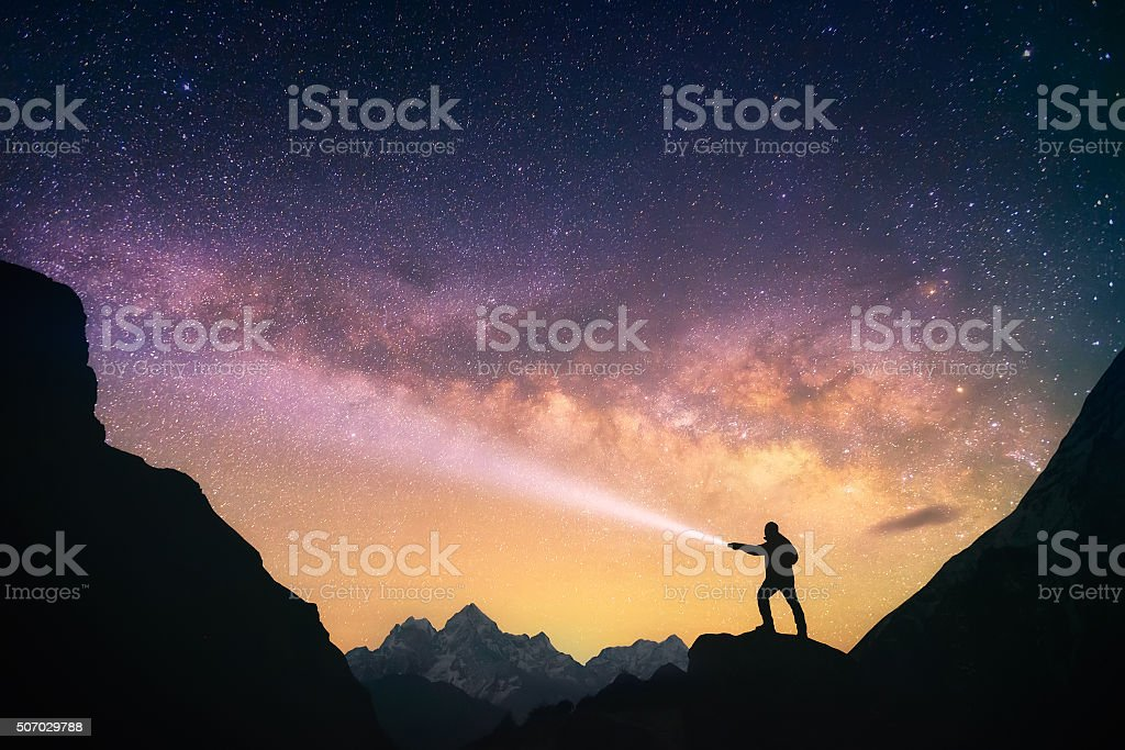 Skywalker stock photo