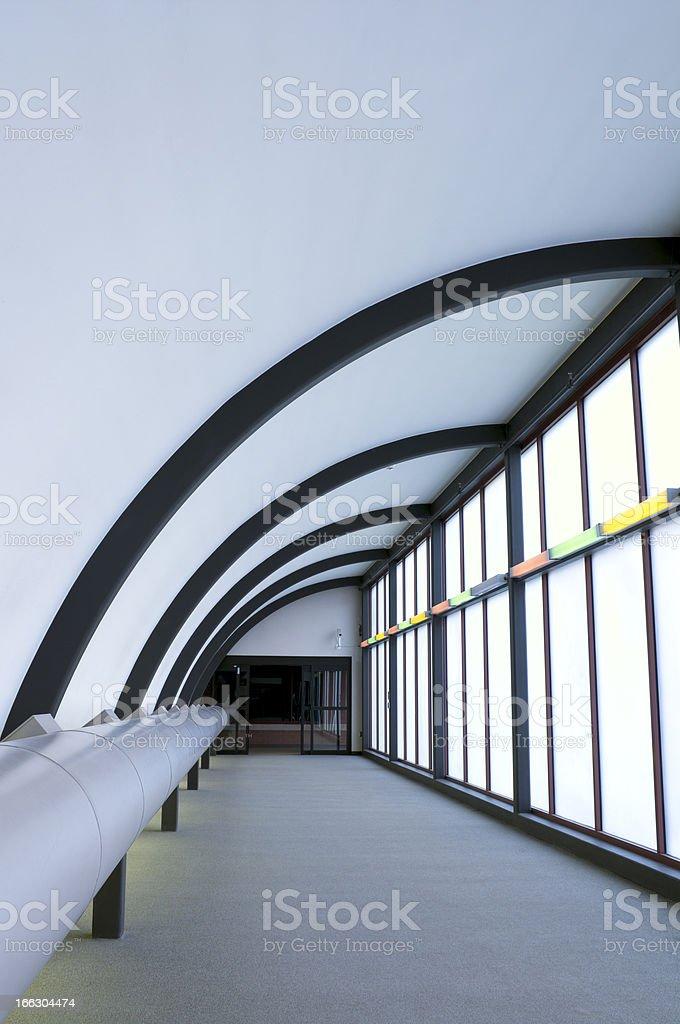 Skyway Enclosure royalty-free stock photo