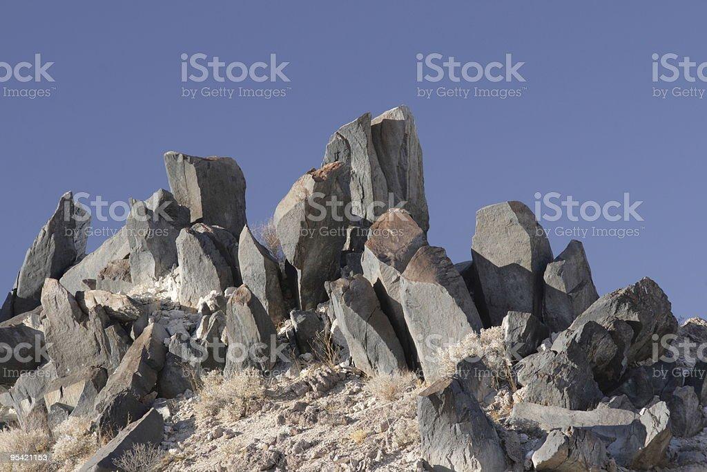 Felsen von rock Lizenzfreies stock-foto