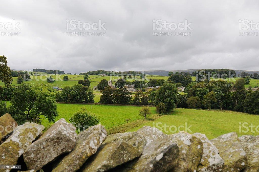 Slaidburn, Yorkshire Dales UK royalty-free stock photo