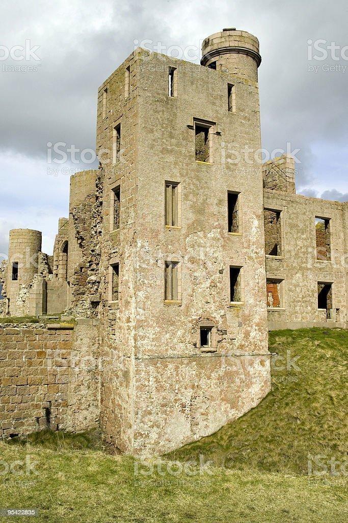 Slains castle Schottland Nahaufnahme Lizenzfreies stock-foto