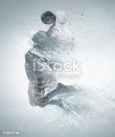 istock slam dunk, basketball 513543736