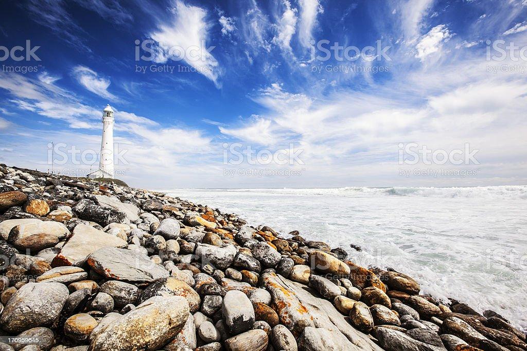Slangkop Lighthouse stock photo