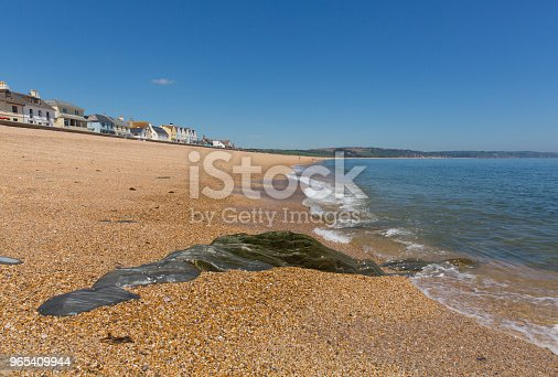 Slapton Sands Beach Devon England Uk From Torcross In Direction Of Dartmouth Stock Photo & More Pictures of Bay of Water