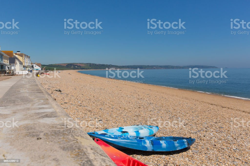 Slapton Sands Devon England UK zbiór zdjęć royalty-free