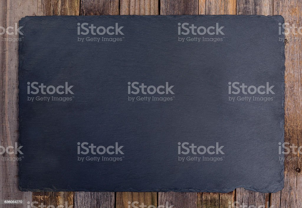 Slate board stock photo