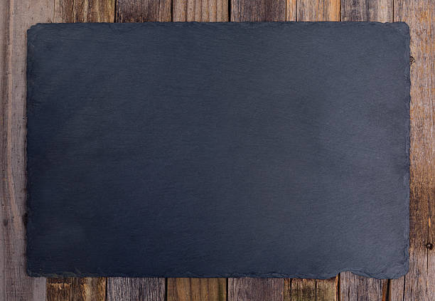 slate board - slate rock stock photos and pictures