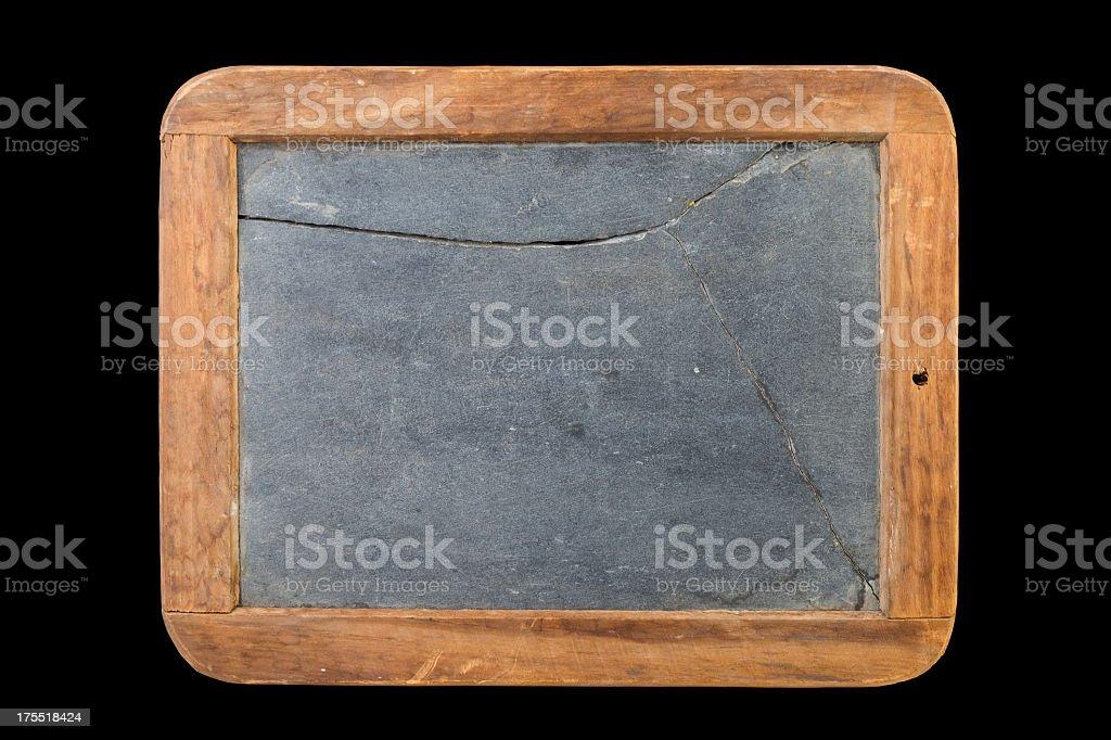 Slate Chalkboard royalty-free stock photo