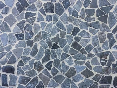 Slate flagstones textured