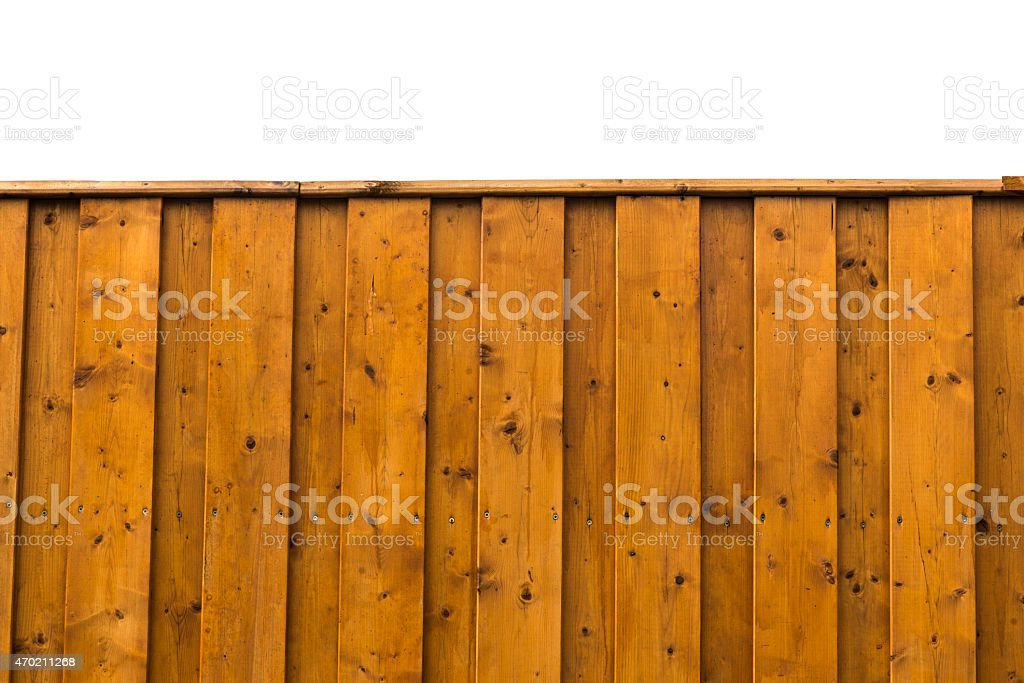 Slate garden fence stock photo