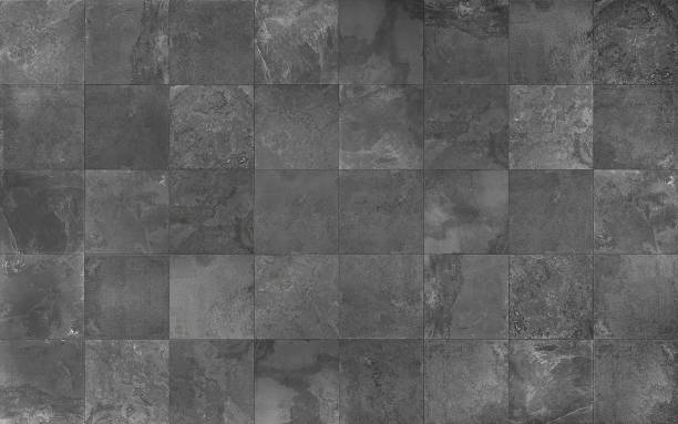 Slate mosaic tile seamless texture Covering mosaic tile lay texture for 3d graphics. ceramics stock pictures, royalty-free photos & images
