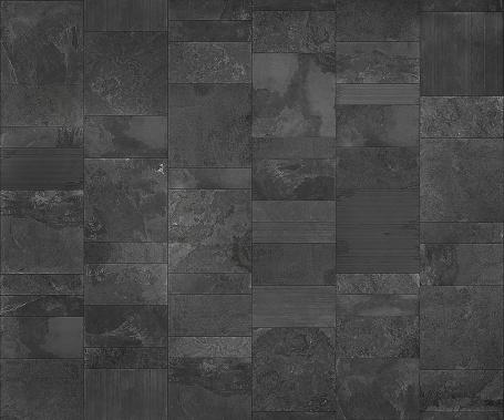 Slate Tile Ceramic Seamless Texture Dark Gray Map For 3d ...