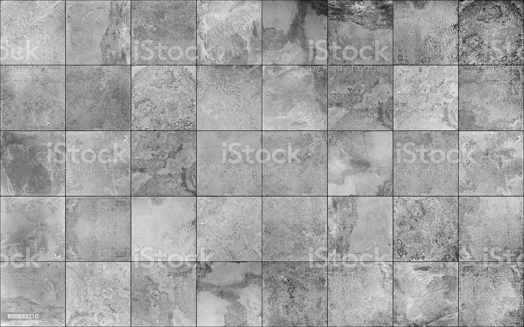 Slate tile ceramic seamless texture stock photo