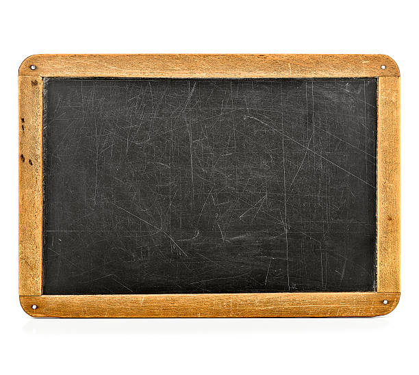 slate/blackboard - slate rock stock photos and pictures