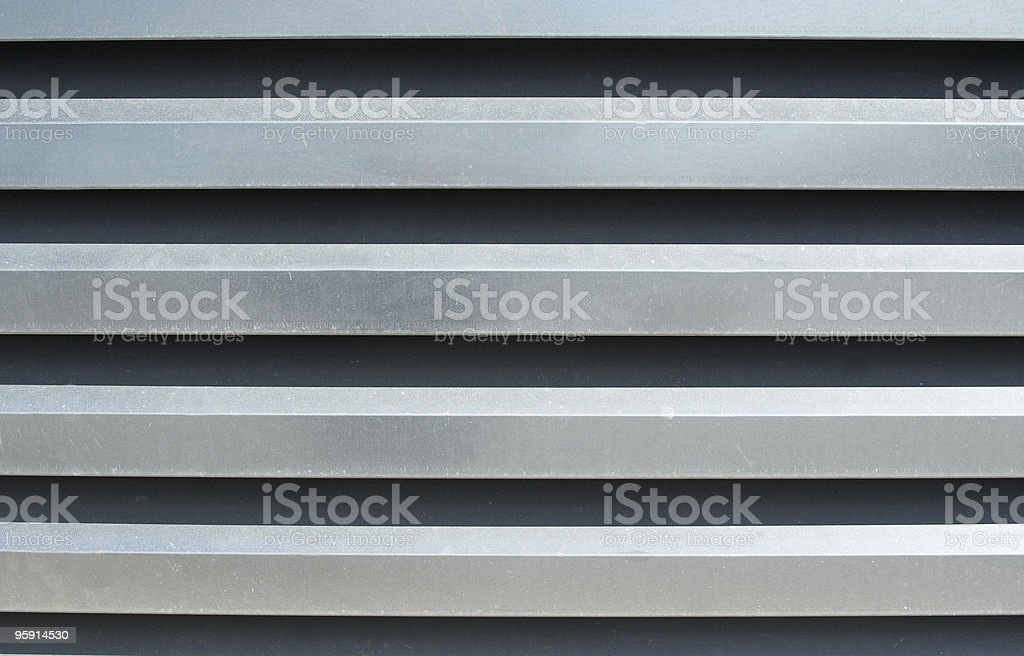Slatted Refrigeration Plant Cover stock photo