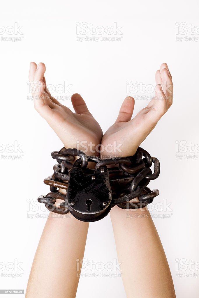 Slavery royalty-free stock photo
