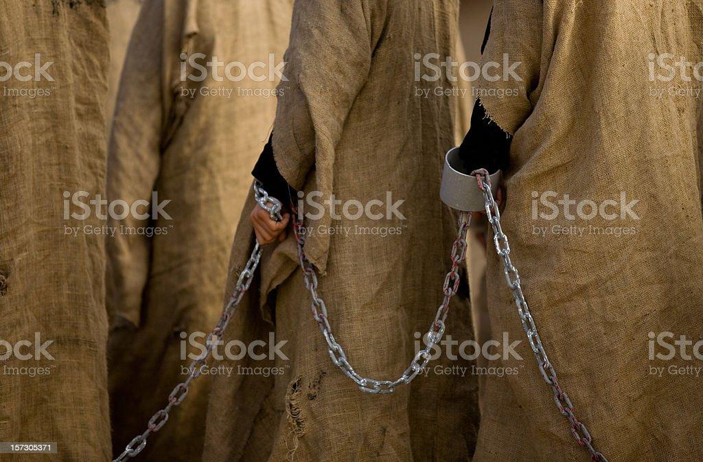slaves royalty-free stock photo