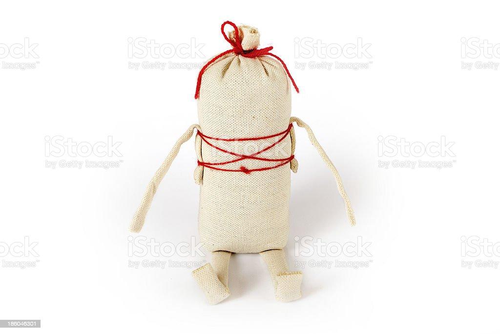 Slavic traditional doll Kasha royalty-free stock photo