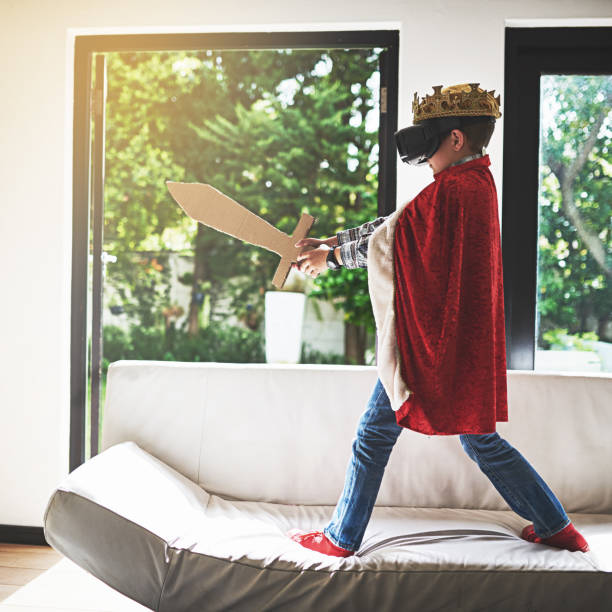 slaying virtual dragons - royalty stock photos and pictures