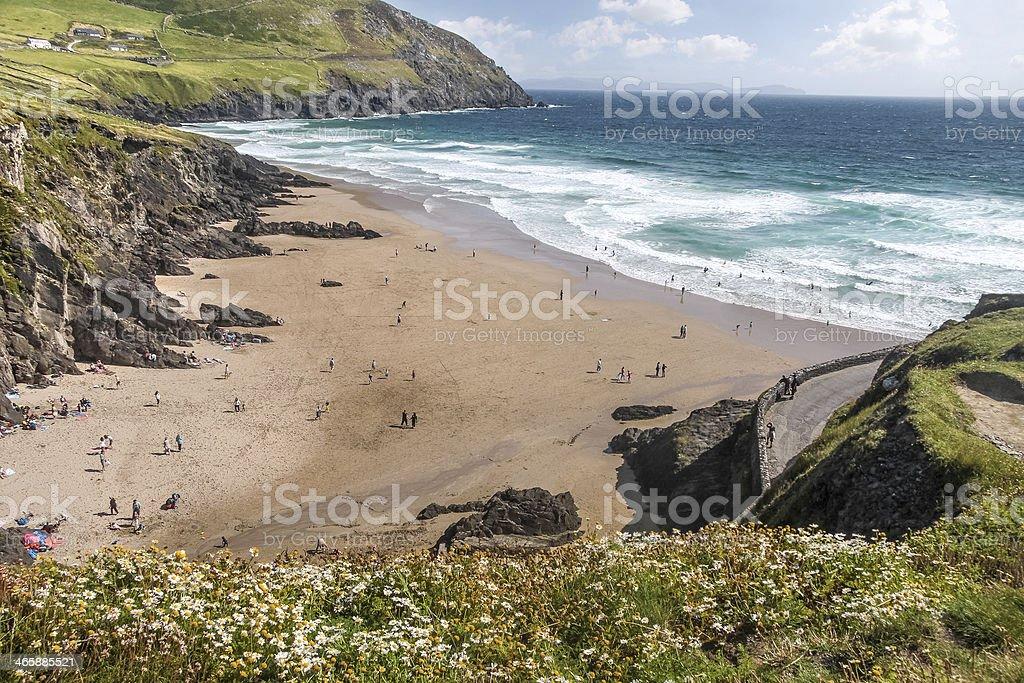 Slea Head beach stock photo