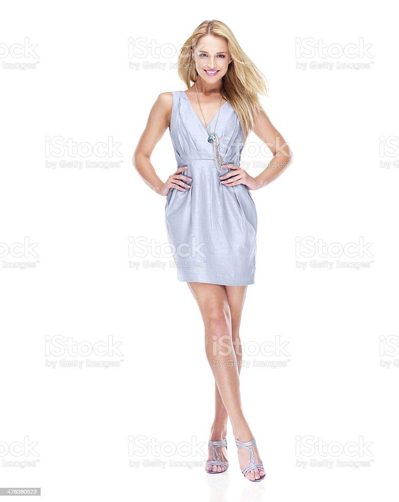 Sleek, stylish and effortlessly chic stock photo