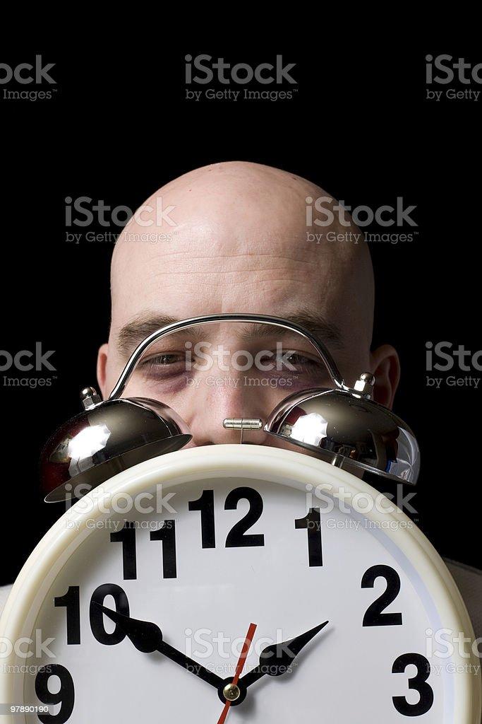 Sleep Apnea Disorder royalty-free stock photo