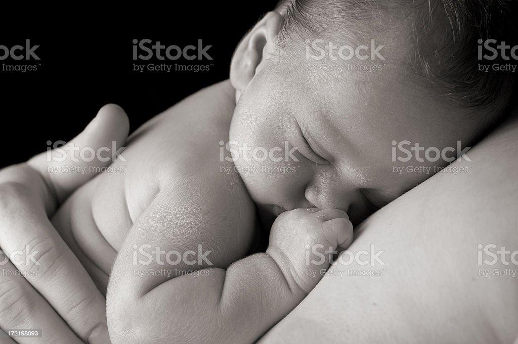 Sleep in Heavenly Peace stock photo