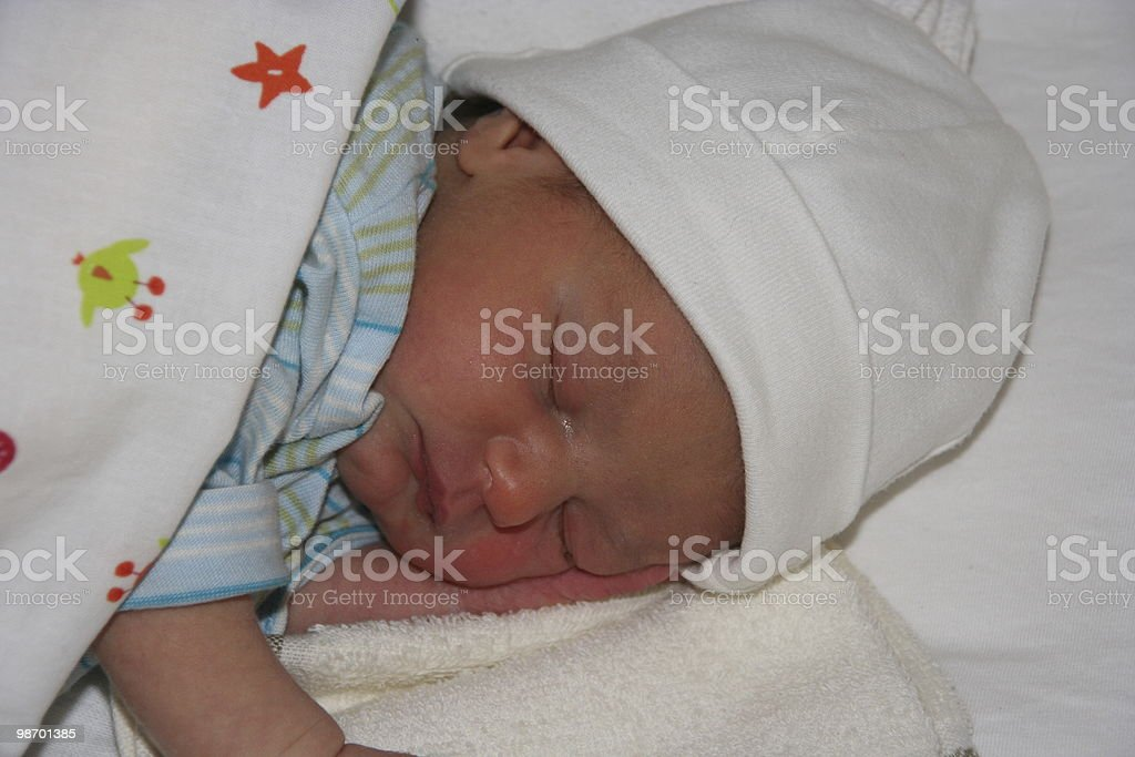 Sleep Tight royalty-free stock photo