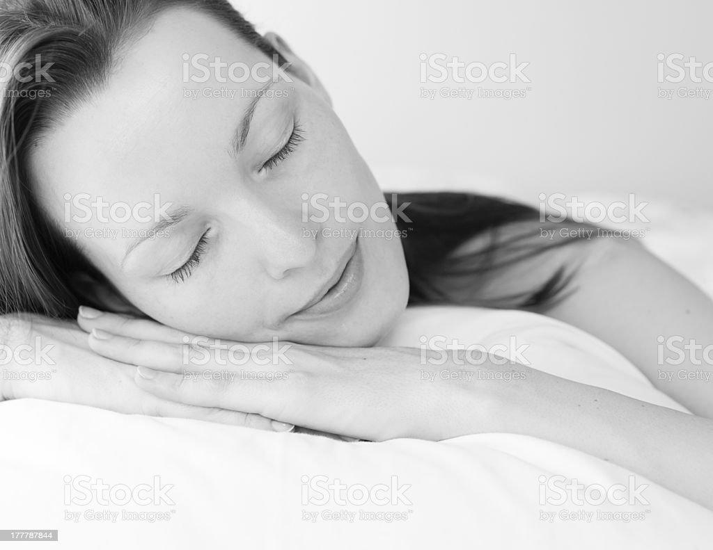 Sleep time royalty-free stock photo