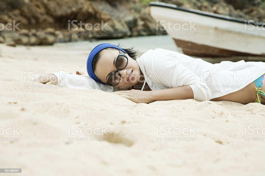 Sleep well) royalty-free stock photo