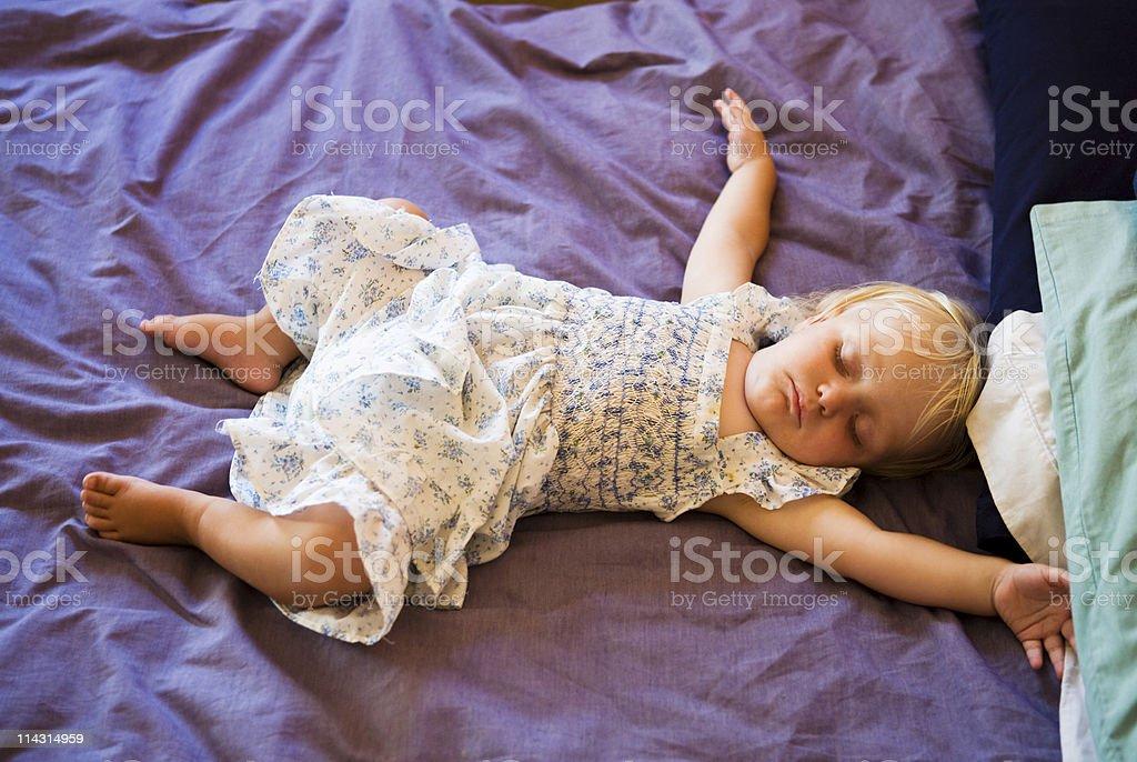 Bebé dormir - foto de stock