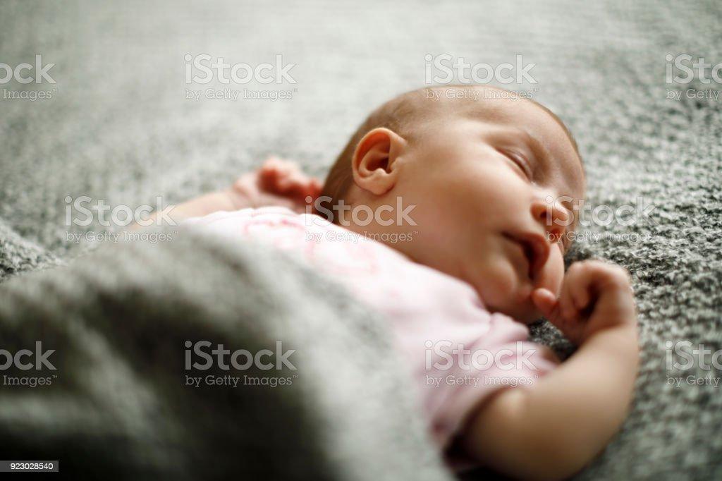 Schlafen baby – Foto