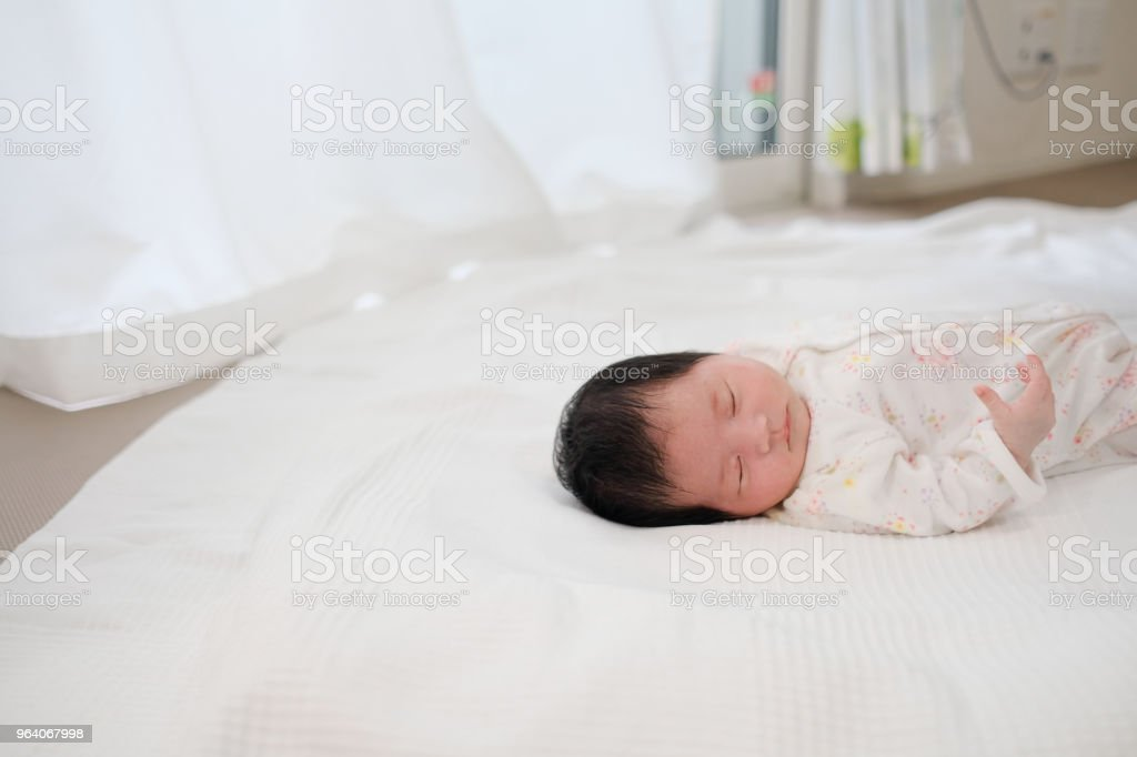sleeping baby - Royalty-free 0-1 Months Stock Photo