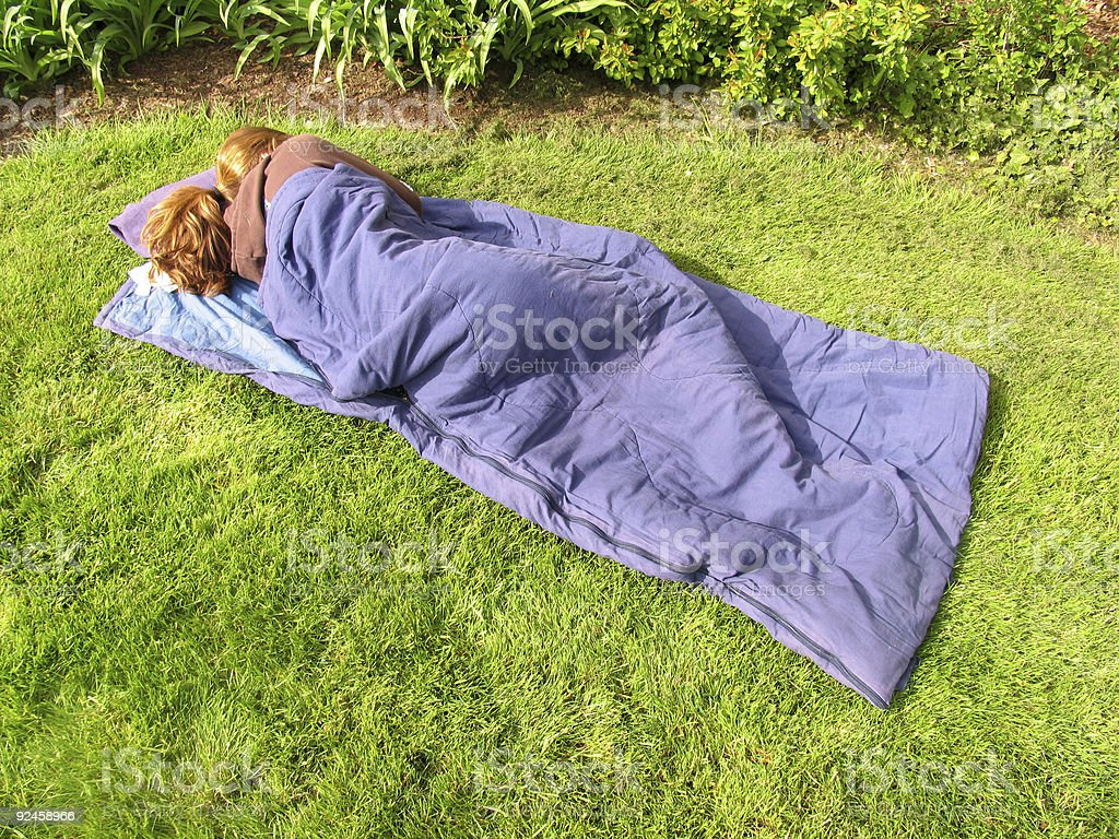 Sleeping Bag 3 royalty-free stock photo